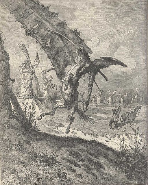 Don quijote illustration by gustave dore vii 5467f382
