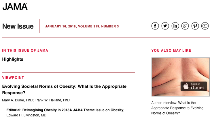 JAMA Obesity Issue